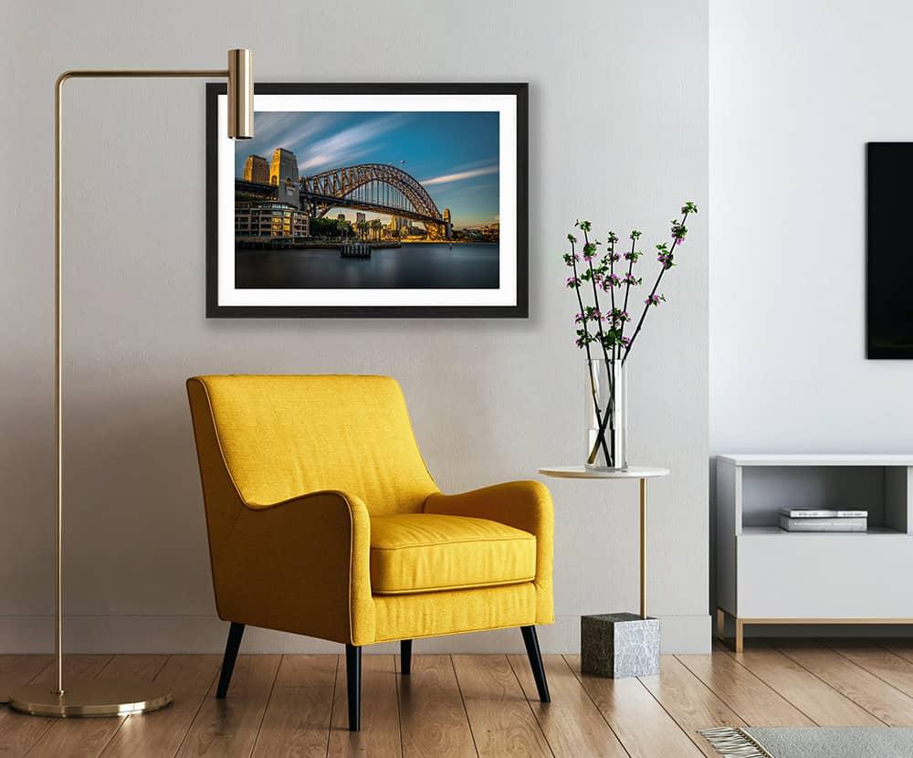 Sydney Harbour Bridge Fine Art Print